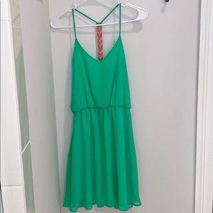 NWT GB green dress.